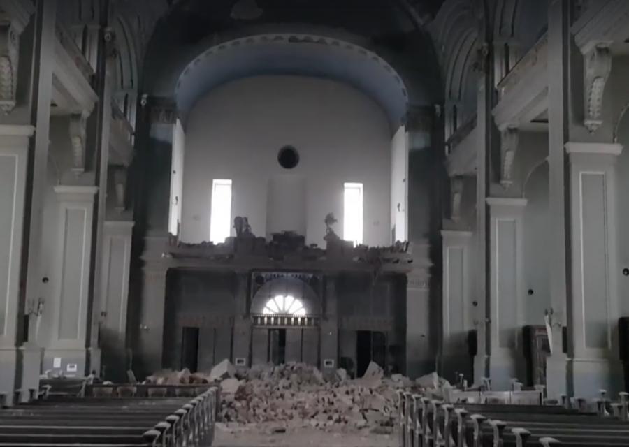 Zagrzeb: Trzęsienie ziemi zniszczyło Bazylikę Serca Pana Jezusa