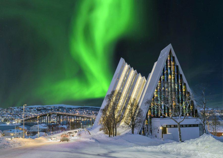 St. Ignatius over the Arctic Circle