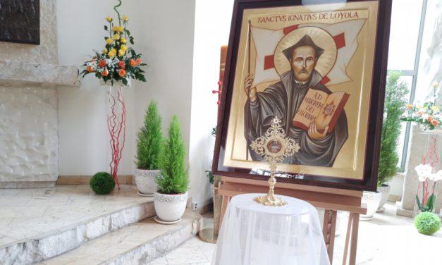 Pregrynacja relikwii oraz ikony św. Ignacego – etap 2: Warszawa, ul. Szczepana 1