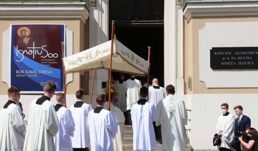 Fotorelacja z Bożego Ciała w Toruniu