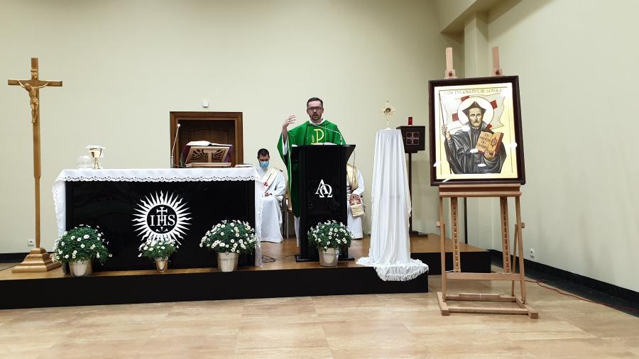 Peregrynacja relikwii oraz ikony św. Ignacego – etap 4: Warszawa Falenica