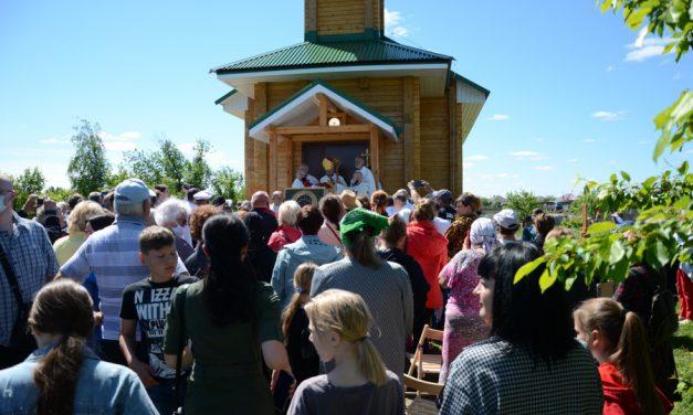 Białystok na Syberii – kościół powstał ze zgliszcz po pożarze
