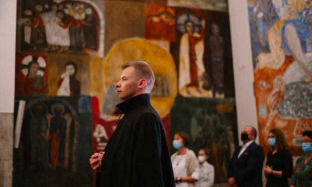 Ostatnie śluby zakonne o. Mateusza Ignacika SJ