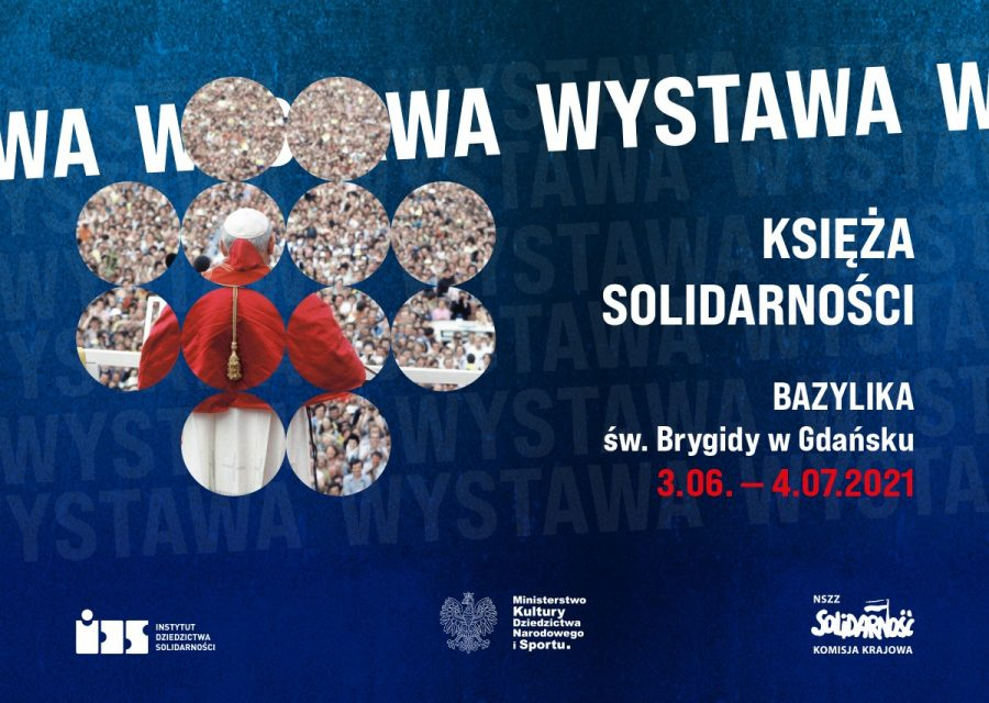 """Wystawa """"Księża Solidarności"""" w Bazylice pw. św. Brygidy w Gdańsku"""