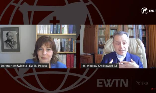 EWTN Polska: Duchowość ignacjańska a kryzysy w Kościele – mówi Wacław Królikowski SJ