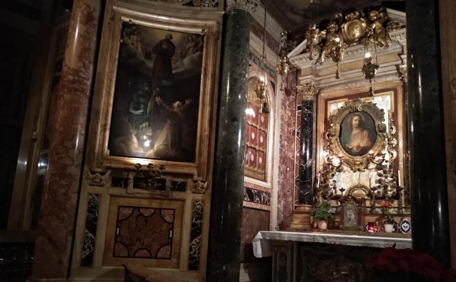 Akt poświęcenia siebie Sercu Jezusa z kościoła Del Gesù