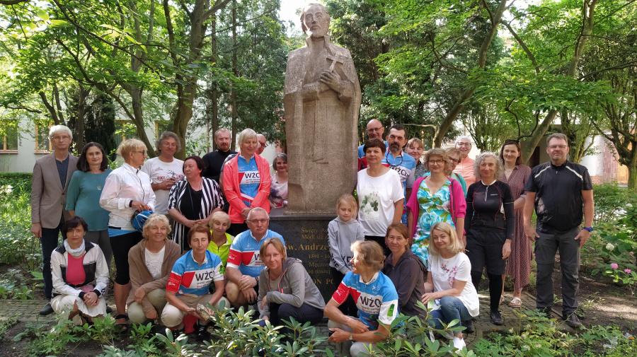 Rowerowa pielgrzymka do Sanktuarium św. Andrzeja Boboli w Szczecinie
