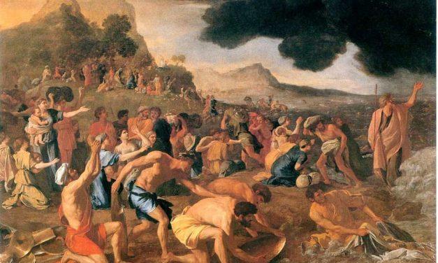 Baranek pokonał smoka (Wj 14,21-15,1)