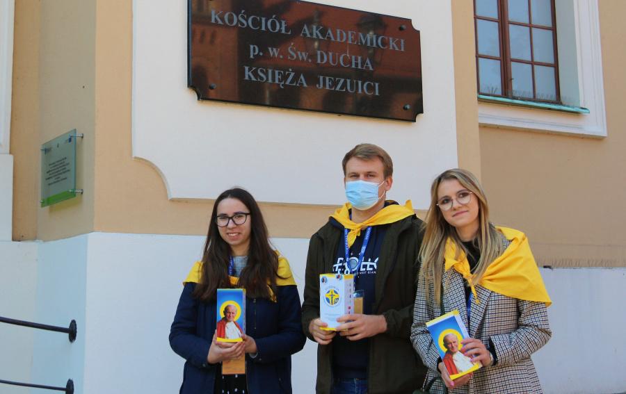 XXI Dzień Papieski w Kościele Akademickim w Toruniu